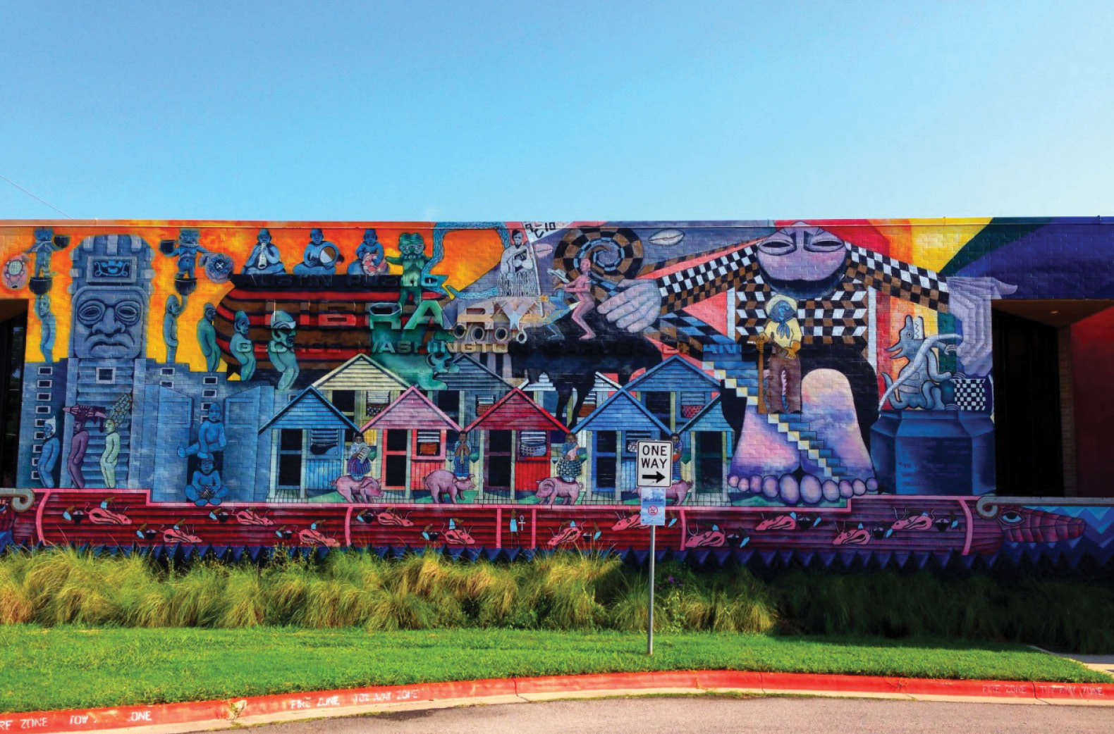 6 best murals eastside magazine for Austin mural wall